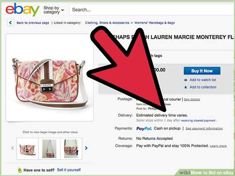 Ebay Bid by How To Bid On Ebay 13 Steps With Pictures Wikihow