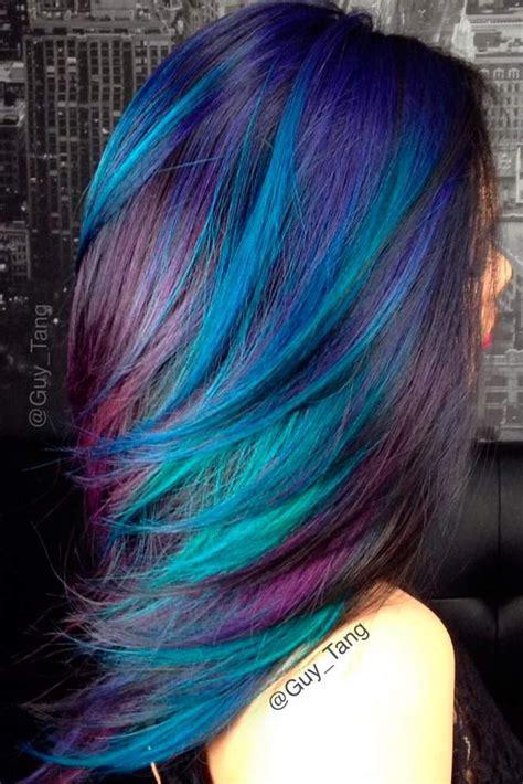 1000 Ideas About Blue Hair Colors On Pinterest Dark