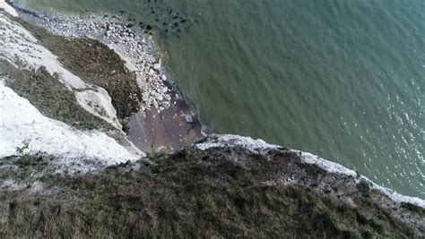 dover cliffs footage stock
