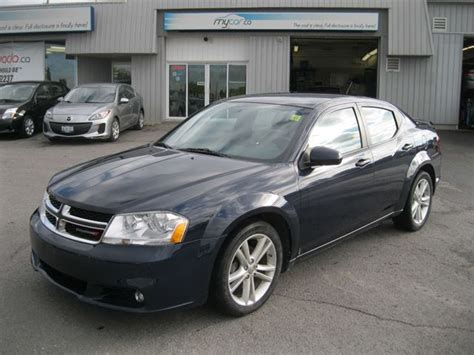 dodge avenger sxt blue  car kingston wheelsca