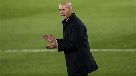 Zinedine Zidane Takes Responsibility for Real Madrid's ...