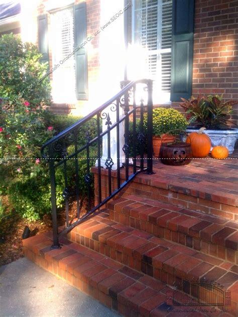 outdoor stair railing ideas  pinterest