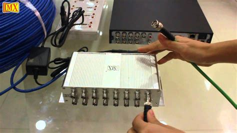how to install cctv to a 16 channel balun