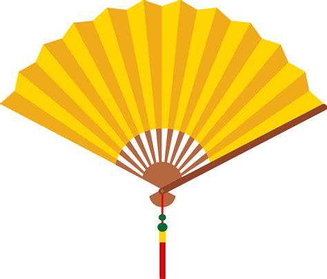 Fan Clipart Yellow Fan Free Clip