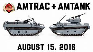 Amtrac Lvt-4 And Amtank Lvt A -4