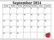 9 Best Images of Spot By The Month September 2015 Calendar