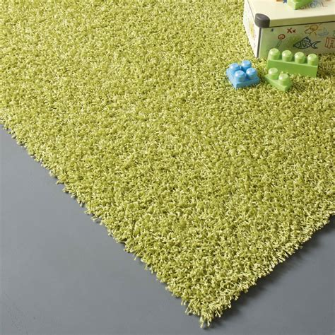 tapie de cuisine tapis vert anis shaggy pop l 60 x l 115 cm leroy merlin