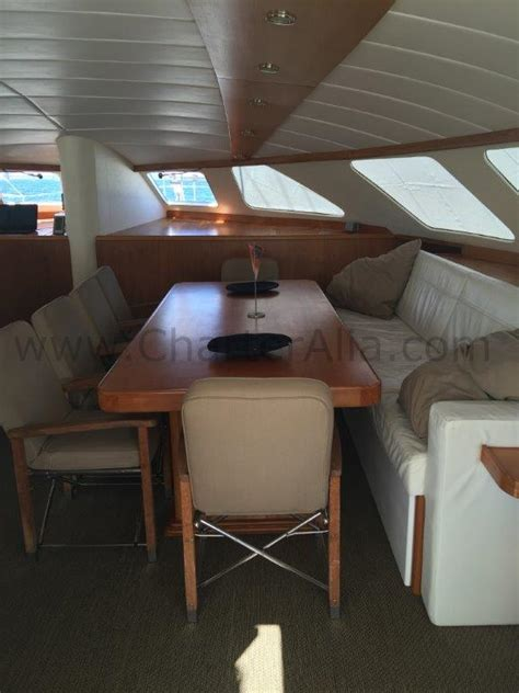 Cat 210 Ibiza charter 7 cabin catamaran   CharterAlia boat