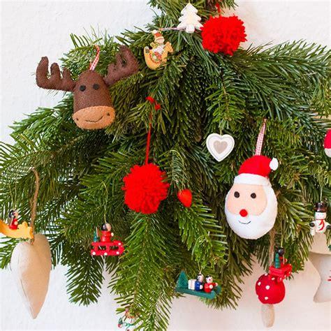 schlüsselanhänger basteln filz weihnachtliche anh 195 164 nger aus filz weihnachten