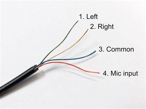 headset wiring images frompo