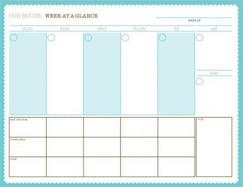 week at a glance calendar printable week at a glance online calendar templates