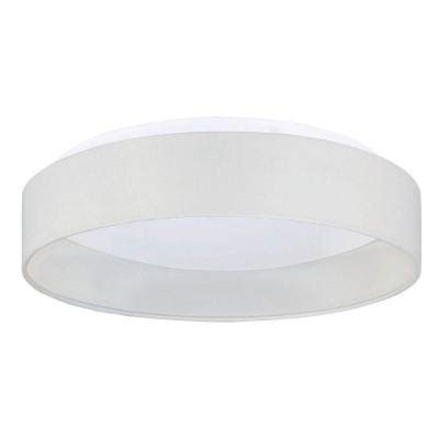 eglo palomoro white led ceiling light 93387a the home depot