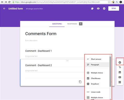 data entry write back in tableau using google forms and