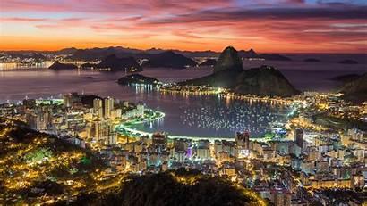 Rio Janeiro Sunrise Brazil Mountain Beach 4k