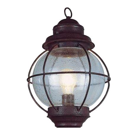 rustic lantern lights bel air lighting lighthouse 1 light outdoor rustic bronze 2066