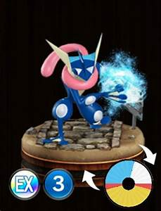 Pokemon Duel Greninja Stats Best Moves Attack Wheel Size