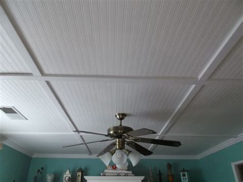 Beadboard Ceiling Panels  Bee Home Plan  Home Decoration