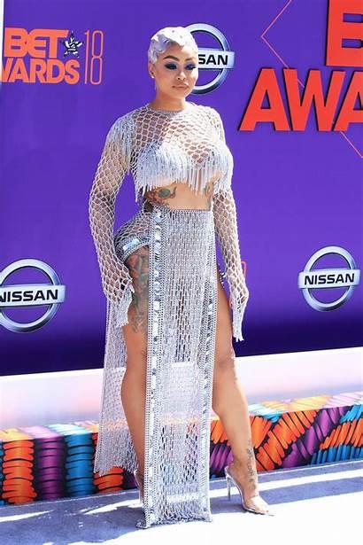 Bet Chyna Awards Carpet Blac Amber Rose