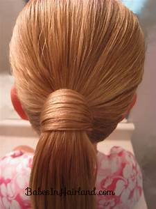 Hair Wrapped Bubble Ponytail - Babes In Hairland