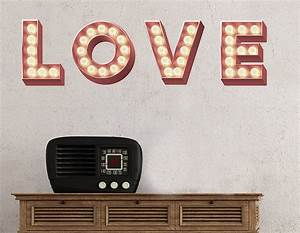 wall stickers retro cinema marquee letters With stick letters wall