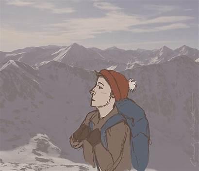 Mountain Deviantart Animation Rocky
