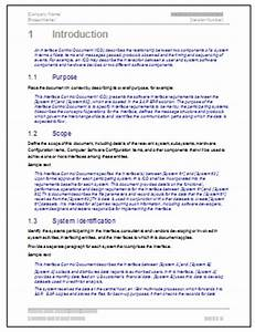 interface control document template technical writing tips With interface control document template