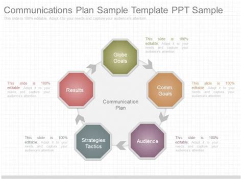 apt communications plan sample template  sample