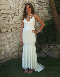 2016 new cheap boho wedding dresses v neck backless lace With bohemian wedding dresses cheap