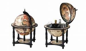 Bar Globe Terrestre : drankkasten als wereldbol groupon goods ~ Teatrodelosmanantiales.com Idées de Décoration