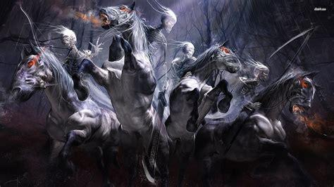 horsemen apocalypse four horse fantasy war hd wallpapers artwork death darksiders affiliate desktop marketing wallpapersafari five 1914 july desktopwallpapers4 dark