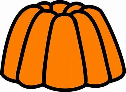Jello Clipart Jelly Orange Clip Cliparts Transparent