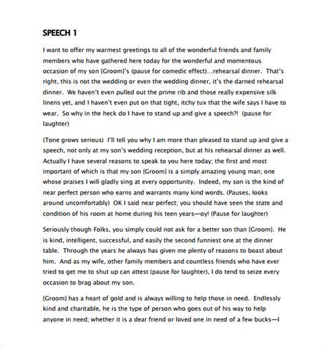 speech at s wedding sle wedding speech exle 7 free documents download in pdf