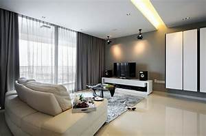 Coole gardinen ideen fur sie 50 luftige designs furs for Markise balkon mit tapeten wohnzimmer modern grau