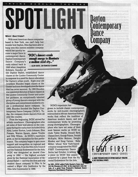Dayton Contemporary Dance Company   OhioDance Virtual