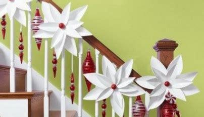 ideas  decorar una escalera en navidad
