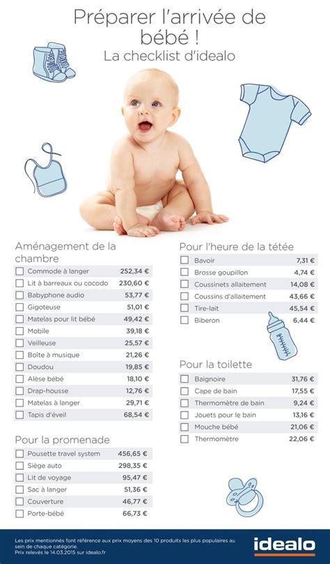 préparer la chambre de bébé les 25 meilleures idées concernant liste naissance sur