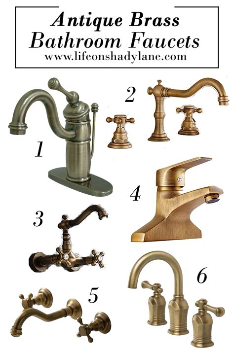 affordable  pretty bathroom faucets life  shady lane