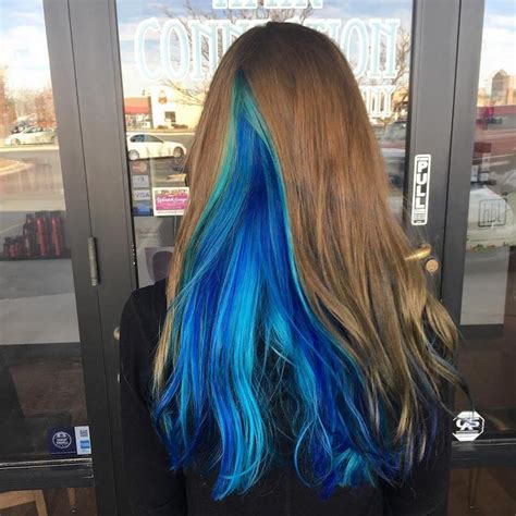 geode hair trends  dazzling crystals  hair color inspiration