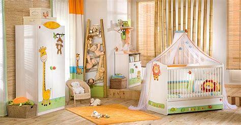 chambre de bébé jungle thème jungle chambre bébé
