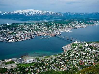 Norway Tromso Cable Fjellheisen Summer Tromsoe Northern