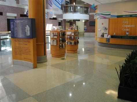 RESULTS: Terrazzo Restoration   Riley Outpatient Center