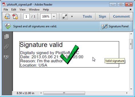 add  digital signature   document