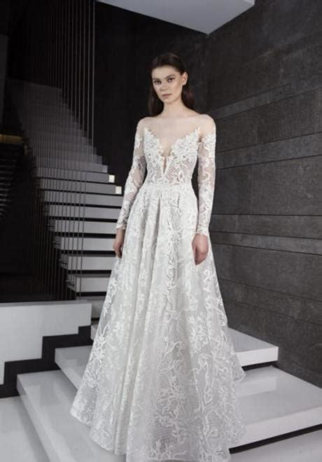 Permalink to Long Sleeve A Line Wedding Dress