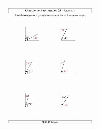 Complementary Math Angle Relationships Worksheet Angles Geometry