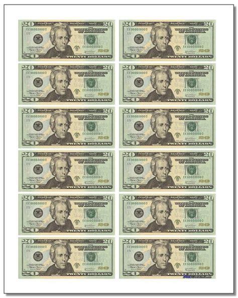 printable play money