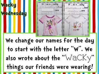 best 25 wacky wednesday ideas on dr seuss 554   3e1a445638f700918185095f24d04ea9 dr suess wacky wednesday kindergarten