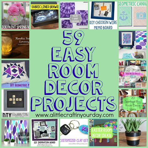 easy diy room decor projects   craft   day