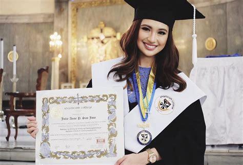 julie san jose plans to pursue master s degree