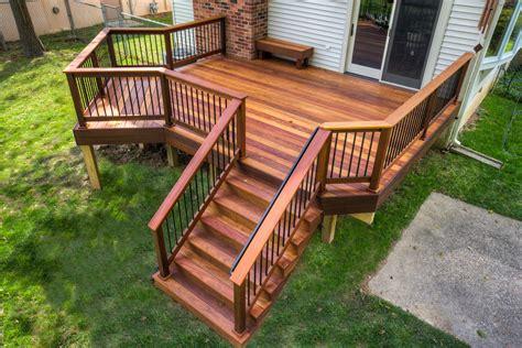 wooden decks stumps quality decks porches
