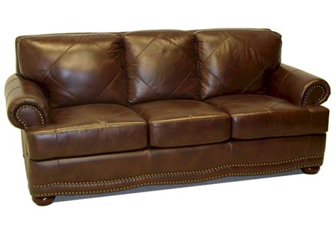 Pillows For Leather Sofa by 844 Semi Attached Pillow Back Leather Sofa By Lacrosse